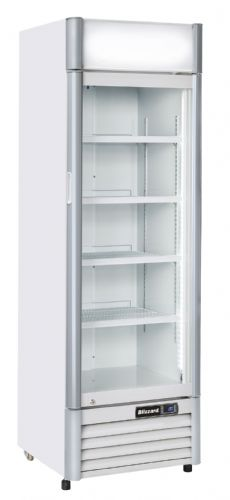 Blizzard QR350AL Single Door Drinks Merchandiser AL Decor 386L